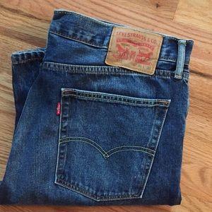 Levi's 513 36x34 Jeans
